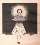 One of Louise Darling's wonderful drawings done for the Beverly Cleary books; this one is from Beezus and Ramona.