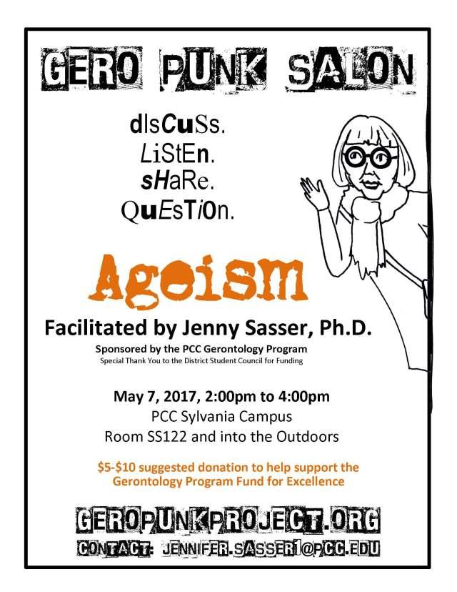 Gero Punk Salon flyer